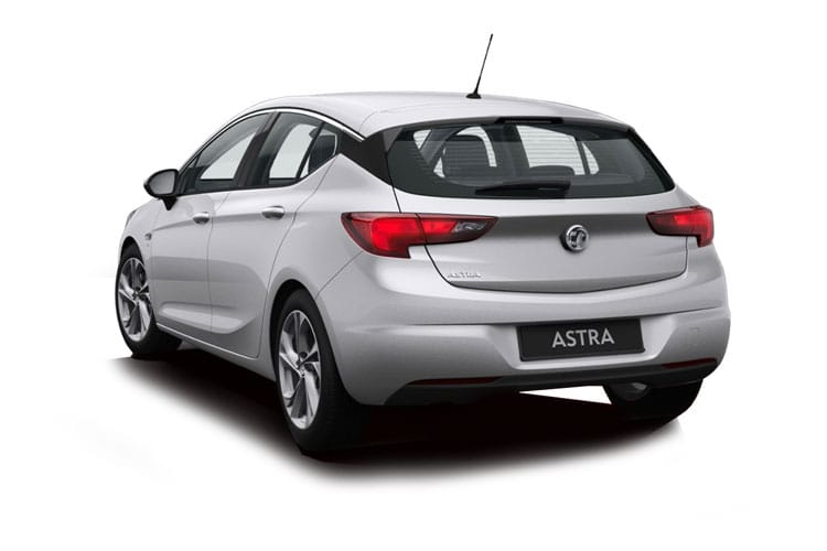 Vauxhall Astra Hatch 5Dr 1.2 Turbo 130PS Business Edition Nav 5Dr Manual [Start Stop] back view