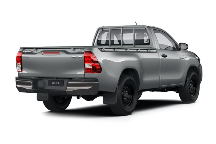 Toyota Hilux PickUp Double Cab 4wd 3.5t 2.4 D-4D 4WD 150PS Active Pickup Double Cab Manual back view