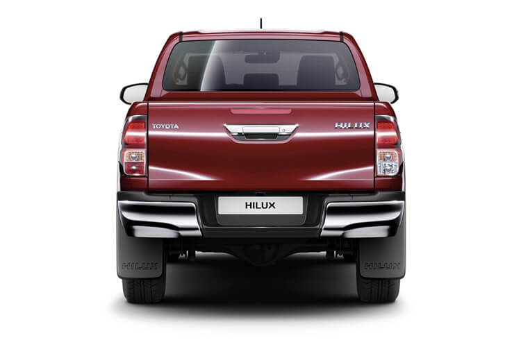 Toyota Hilux PickUp 4wd 3.5t 2.4 D-4D 4WD 150PS Active Dropside Dropside Manual back view