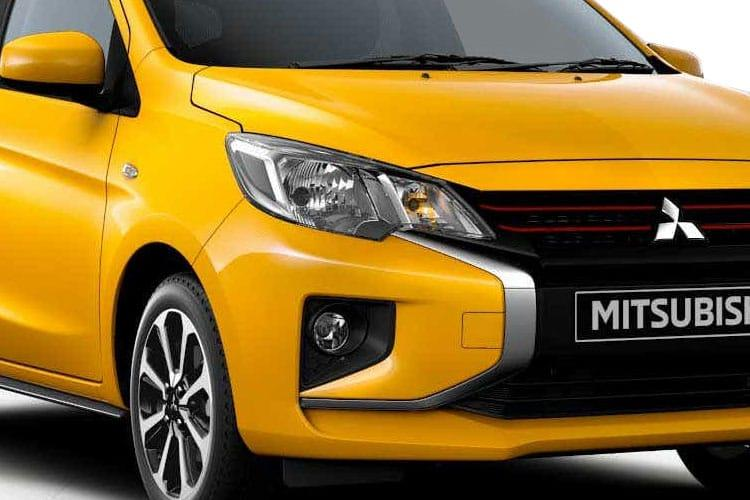 Mitsubishi Mirage Hatch 5Dr 1.2  71PS Design Pro 5Dr CVT [Start Stop] detail view