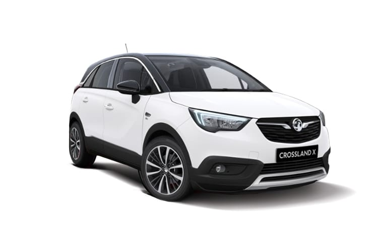 Vauxhall Crossland X SUV 1.5 Turbo D ecoTEC 110PS Elite 5Dr Manual [Start Stop] front view