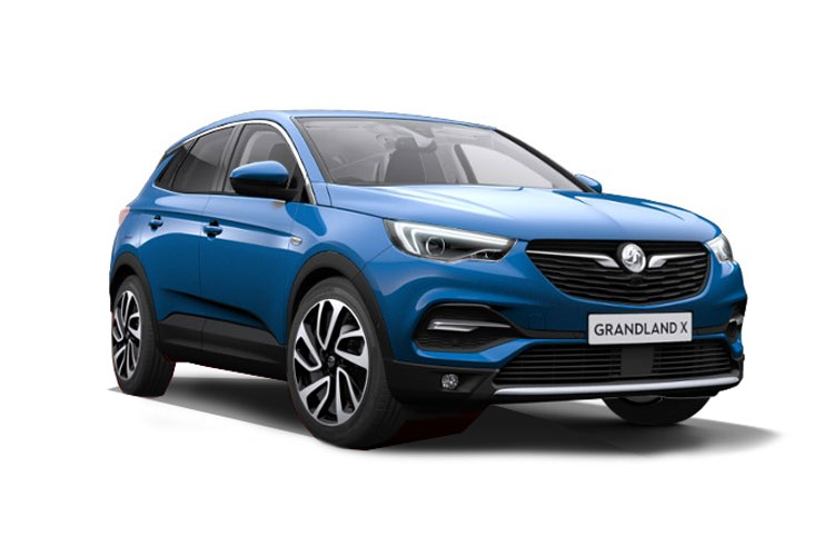 Vauxhall Grandland X SUV 1.2 Turbo 130PS Griffin 5Dr Manual [Start Stop] front view