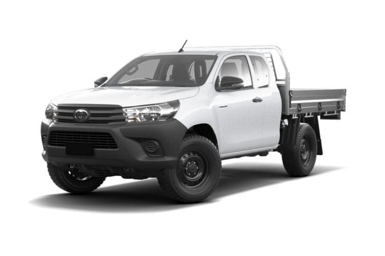 Toyota Hilux PickUp 4wd 3.5t 2.4 D-4D 4WD 150PS Active Tipper Tipper Manual [Safety Sense] front view