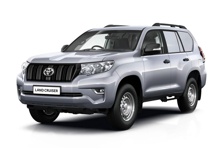 Toyota LandCruiser LCV LWB 4wd 2.8 D 4WD 177PS Utility Van Manual [2Seat] front view