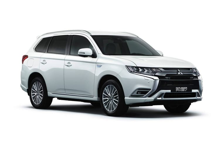 Mitsubishi Outlander PHEV SUV 2.4 h TwinMotor 13.8kWh 224PS Verve 5Dr CVT [Start Stop] front view