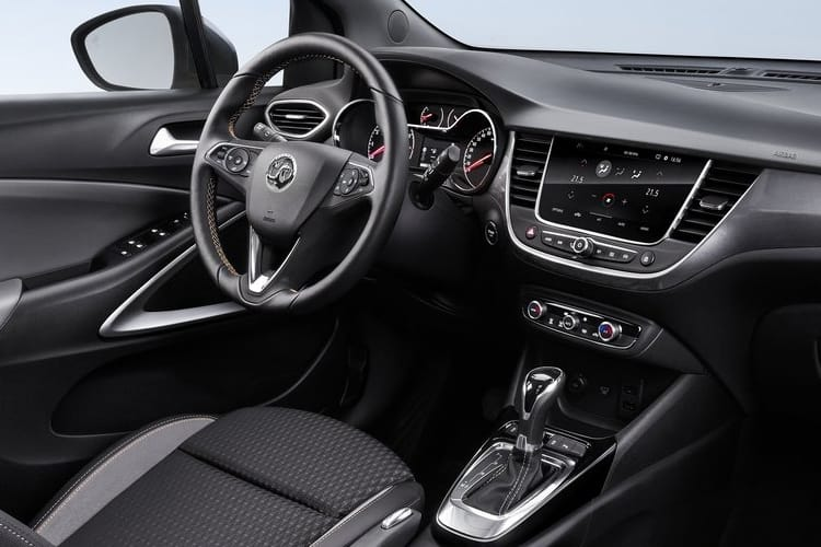 Vauxhall Crossland X SUV 1.5 Turbo D ecoTEC 110PS Elite 5Dr Manual [Start Stop] inside view