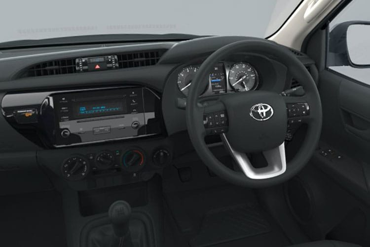 Toyota Hilux PickUp Double Cab 4wd 3.5t 2.4 D-4D 4WD 150PS Active Pickup Double Cab Manual inside view