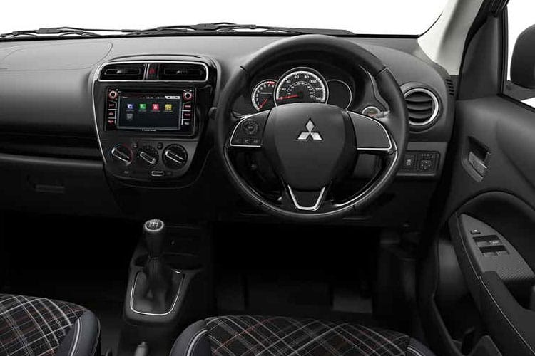 Mitsubishi Mirage Hatch 5Dr 1.2  71PS Design Pro 5Dr CVT [Start Stop] inside view